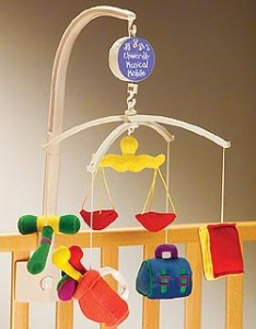 Lawyer Baby Mobile